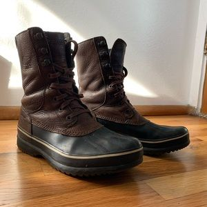 Wool Lined Sorel Boots